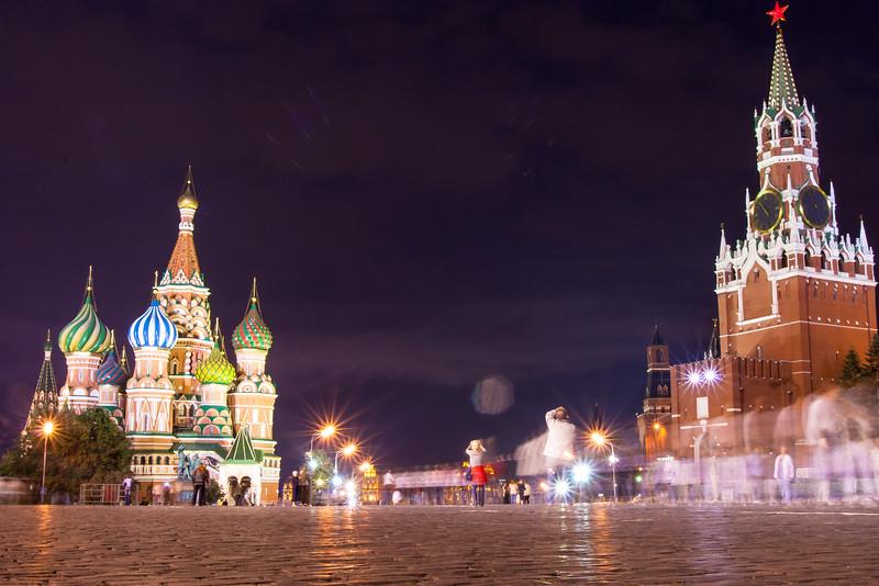 Kremlin and St Basil's