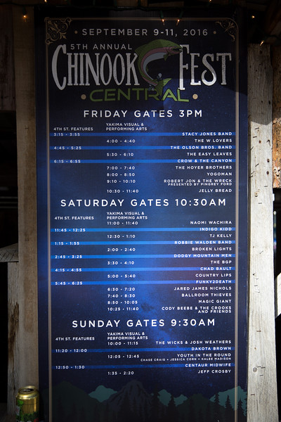 2016 Chinook Fest Central (September 9-11)