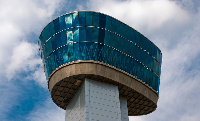 Udvar Hazy Observation Tower, National Air and Space Museum, Virginia