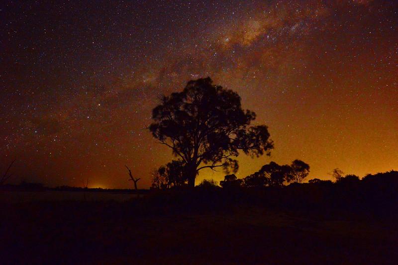 Milky Way over Mundic Creek