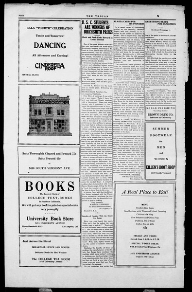 The Southern California Trojan, Vol. 2, No. 1, July 05, 1923
