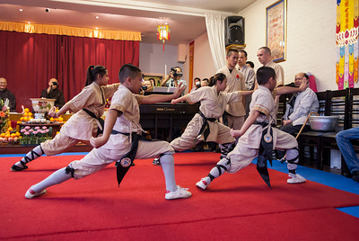 Shaolin Students in London