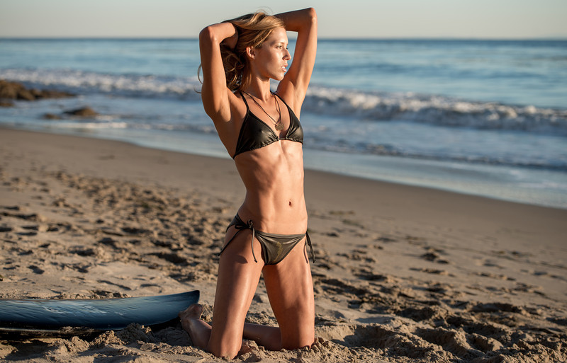 Tall, Blonde, Swimsuit Bikini Model Goddess! Nikon D800 Photos!