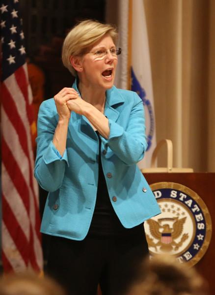 Elizabeth Warren town hall 062317