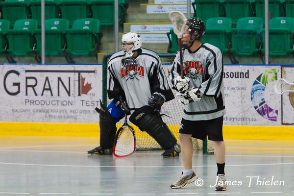 Okotoks Icemen vs Strathmore Venom May 06, 2011