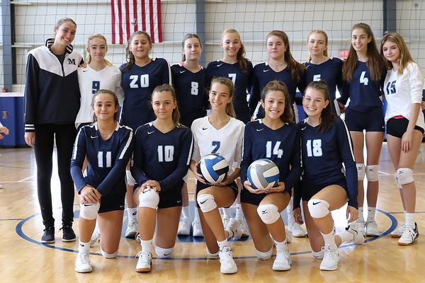 Junior Varsity Volleyball (Navy) 2019-2020