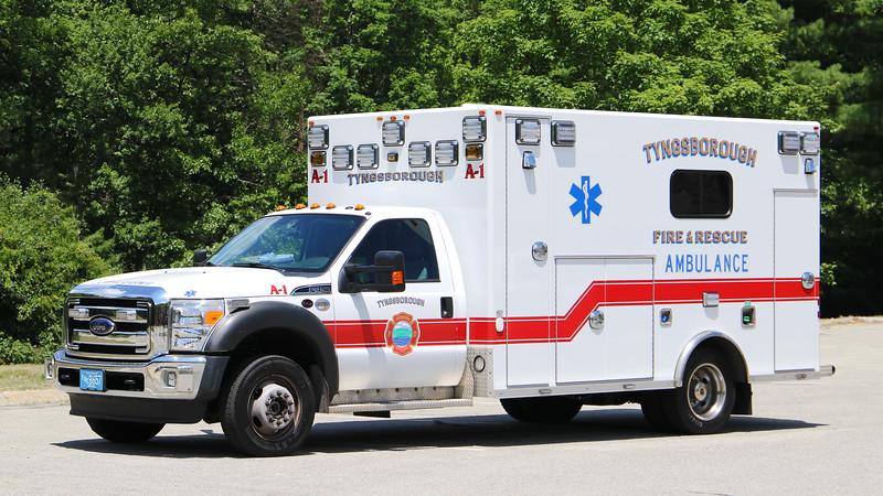 Ambulance 1.  2016 Ford F-450 / Osage