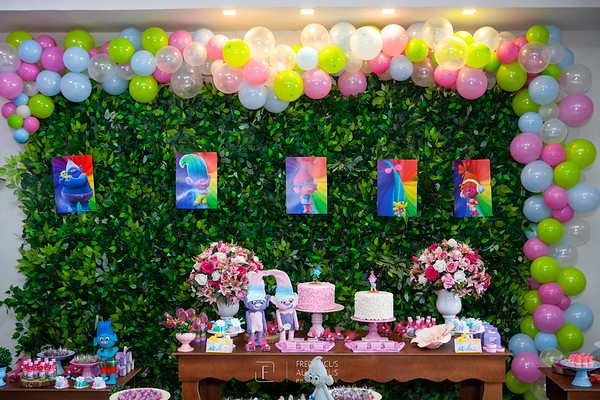 Festa de Aniversario dos 5 anos de Iris no BUffet Sonho Meu