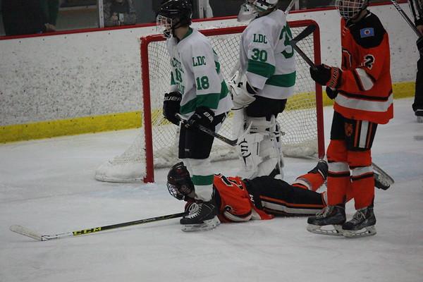 LDC boys hockey v. Delano, 2-14-17