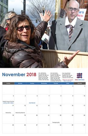 ORD2 2018 Calendar