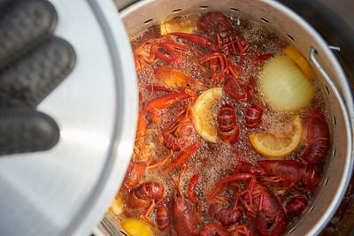 May - Crawfish boil