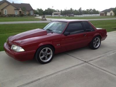 2016 05-16  1990 Fox Body Ford Mustang