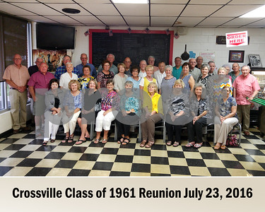 Crossville Class of 1961 Reunion 2016
