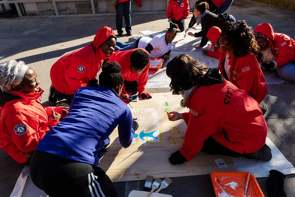 MLK Day of Service 2019 - City Year Baton Rouge