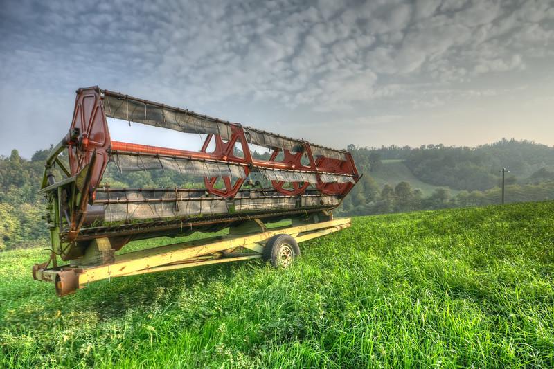 Agricultural Machine - Albinea, Reggio Emilia, Italy - October 21, 2012