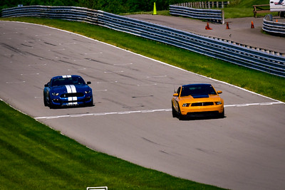 2021 SCCA TNiA Pitt May 20 Int Orange Blk Mustang