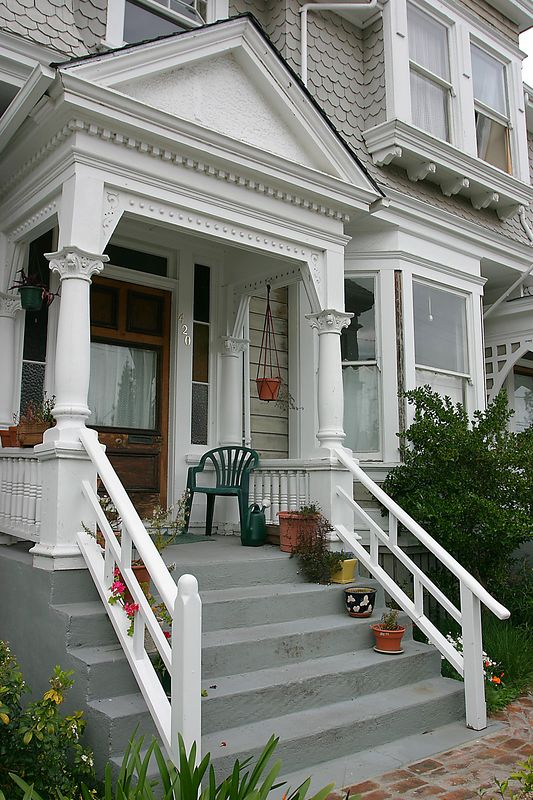 Victorian mansion, Santa Cruz, California.