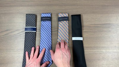 Mens wardrobe ties