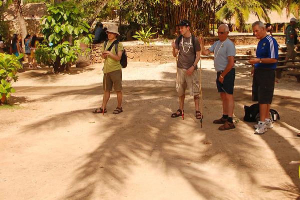 Polynesian Cultural Center - Throwing a Spear