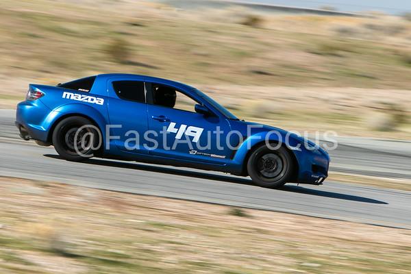 Custom Gallery - Blue Mazda RX-8