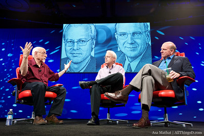 D8: Steve Ballmer and Ray Ozzie, Microsoft