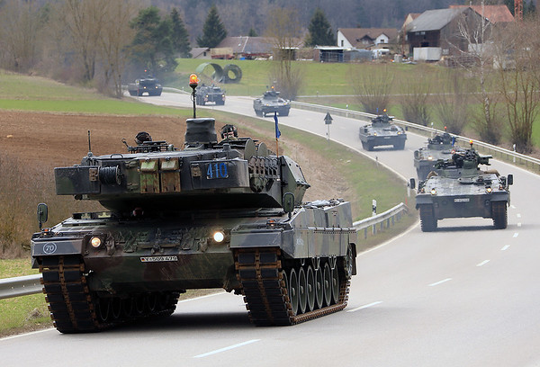 NATO Exercise Allied Spirit X - Joint Multinational Readiness Center Hohenfels