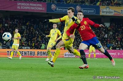 Friendly Match - Romania - Spain