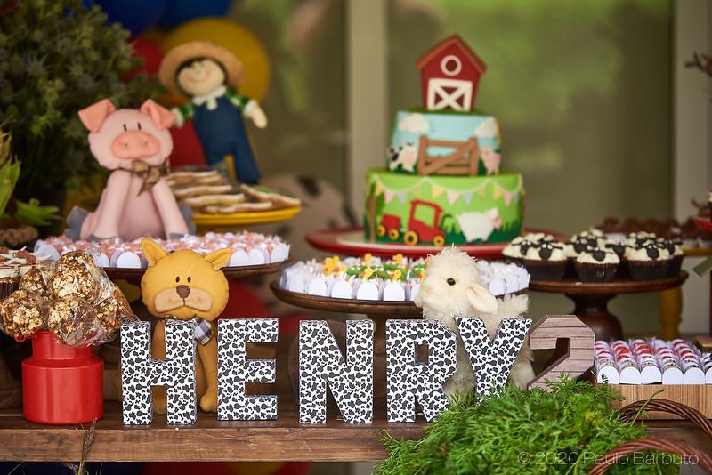 Aniversário Henry - 2 Anos - Outubro 2020