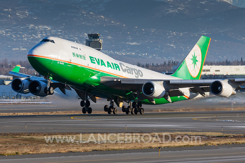 Eva Air Cargo 747-400 - B-16406 - ANC