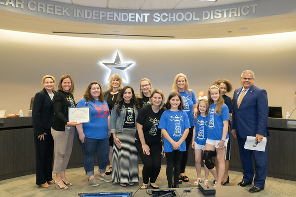 Clear Creek ISD Board of Trustees - April Meeting