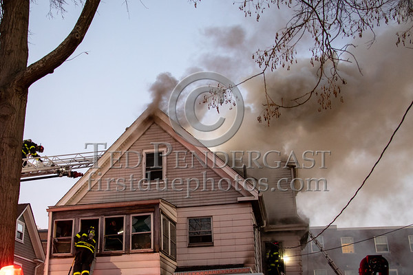 Cambridge MA - 3 Alarms on Van Norden St