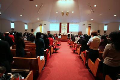 20091213 受洗典禮與入會儀式