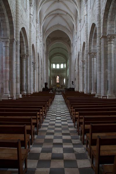 Saint-Benoit-sur-Loire Abbey Nave and Choir