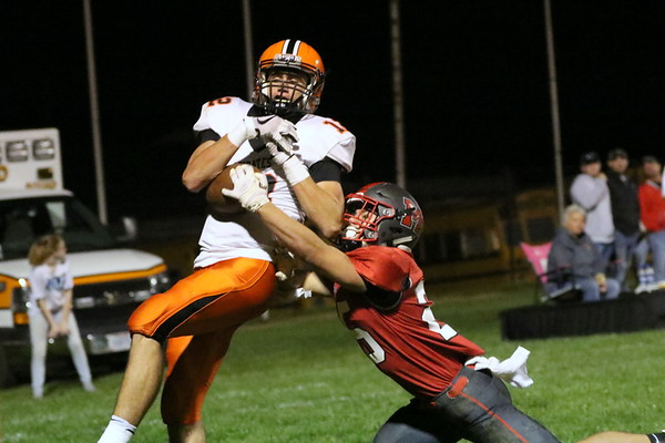 08c Football: Wheelersburg at Minford 2017: THIRD Quarter