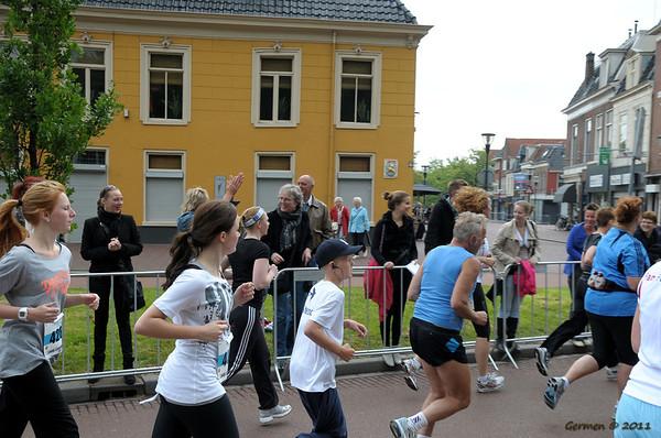 Tom in de Leeuwarder Marathon: 5km