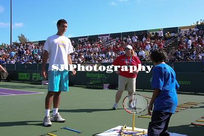 Sony Ericsson TIA Tennis Kids Day March 25, 2009