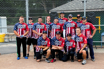 Battle of the Badges softball game