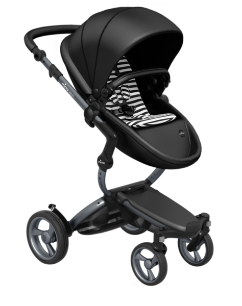 Mima_Xari_Product_Shot_Black_Flair_Graphite_Chassis_Black_And_White_Stripe_Seat_Pod.png