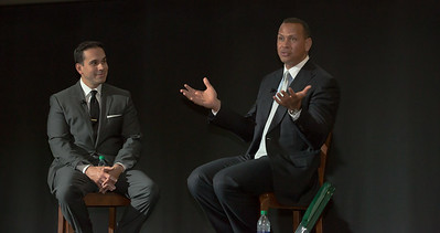 Alex Rodriguez, moderated by Jorge Sedano