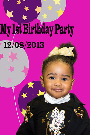 1st Birthday (taken 2013)