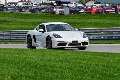 2020 SCCA TNiA Pitt Race Sept 30 Nov White Porsche Cayman