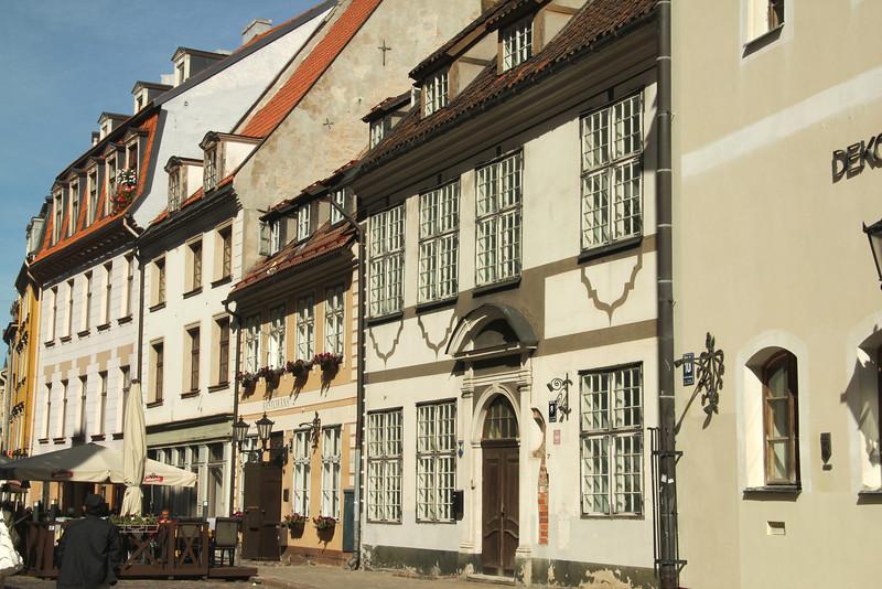 Beautiful buildings in Old Town -Riga, Latvia