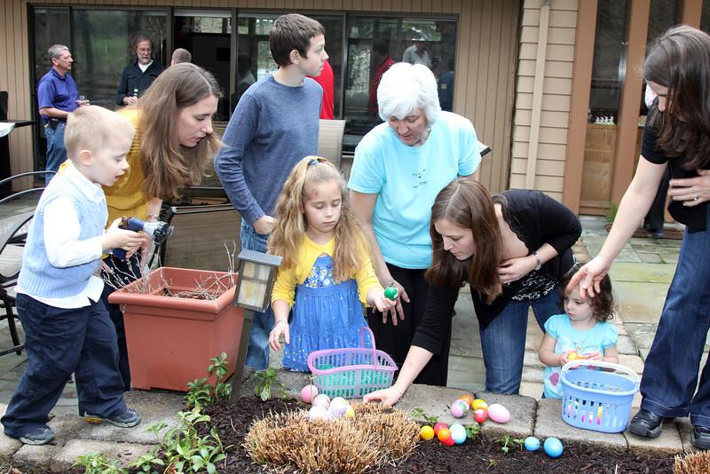 Easter Egg Hunt MacDonald's 4-23-11