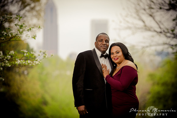 Tonya & Derwin Engagement Session