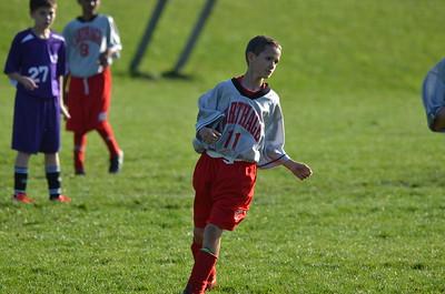 7th Grade Boys Soccer vs Watertown 10-6-16