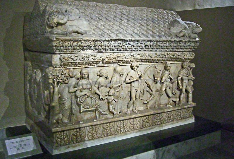 21-Sarcophagus, 2nd century CE