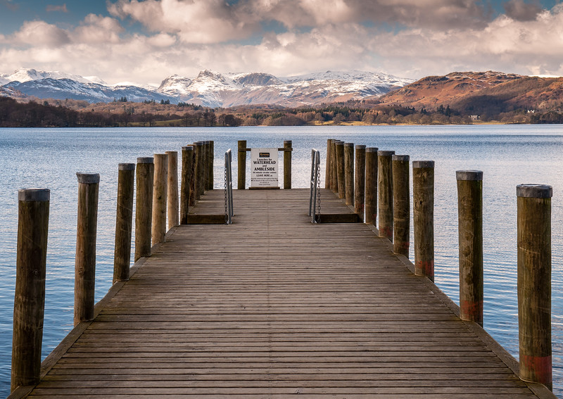 Brockhole Pier on Lake Windermere
