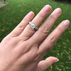 1.71ct Old Mine Cut Diamond Solitaire GIA K SI2 5