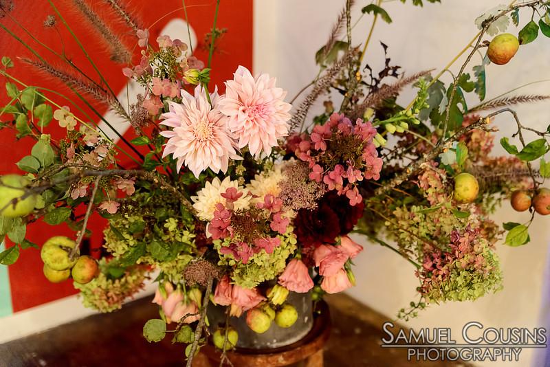 Flowers at Space Gallery's Wild Nite