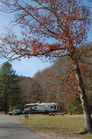 Journal Site 164: Return To Camp Creek State Park, Camp Creek, WV - Nov. 1, 2010